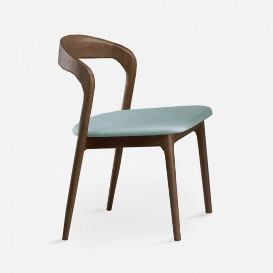 LUCA Dinning Chair, W46, Walnut