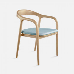 LUCA Arm Chair, W50, Natural Ash
