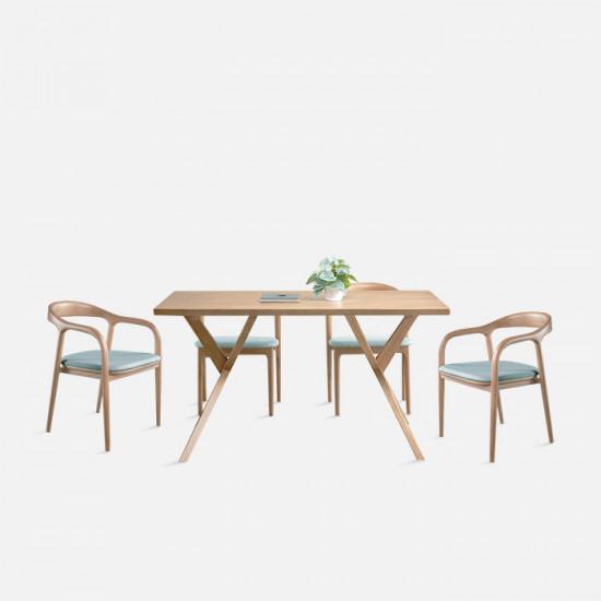 LUCA Arm Chair, W49, Ash