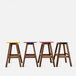 Sim Bar Stool - Yellow [Display]
