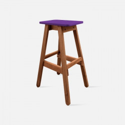 Sim Bar Stool - Purple [Display]