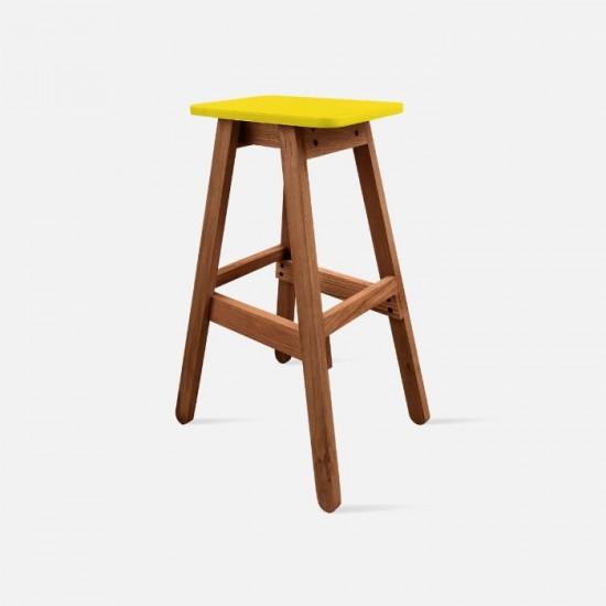 Sim Bar Stool - Yellow [Display]
