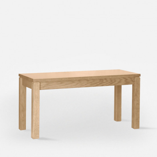 Trunk Bench, Oak, L110 [Display]