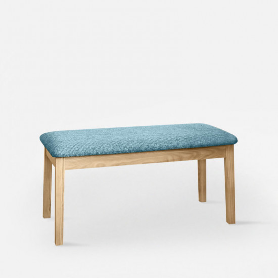 Shima Bench - Ash with Blue L110 [Display]