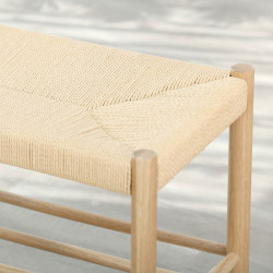 Unite Stool with rope weave