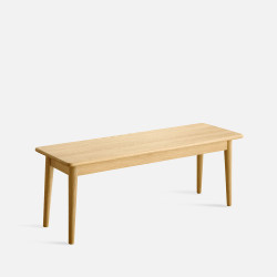 NADINE Bench L115/L135, Oak