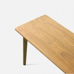 NADINE Bench L115/L135, Oak