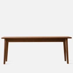 NADINE Bench L115/L135, Walnut