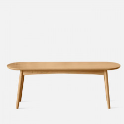 Curve Wooden Bench L120 / L49