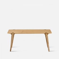 SEN Minimal Bench, Natural Ash, L100