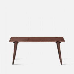 SEN Minimal Bench, Walnut Brown, L90