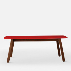 SIM Bench 120 Red - Teak