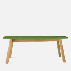 SIM Bench L110 Green- Teak