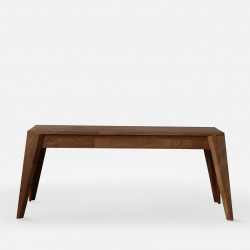 Piece Bench - Walnut