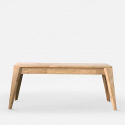 Piece Bench - Oak