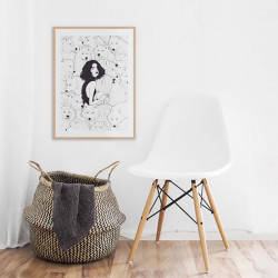 Wolf Pack, X-Large, Framed Ash Wood [In Stock]