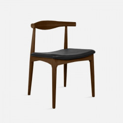[SALE] Elbow Style Chair - Walnut