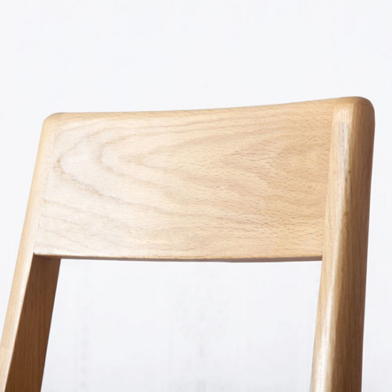 [SAEL] Linear Chair, W43, Wooden Seater Walnut
