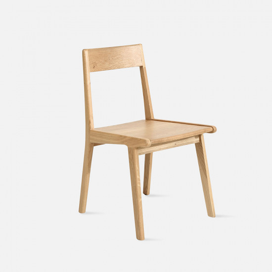 [SAEL] Linear Chair, W43, Wooden Seater Oak