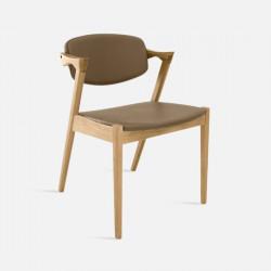 Z Chair, W46, Khaki, Oak [In-Stock]