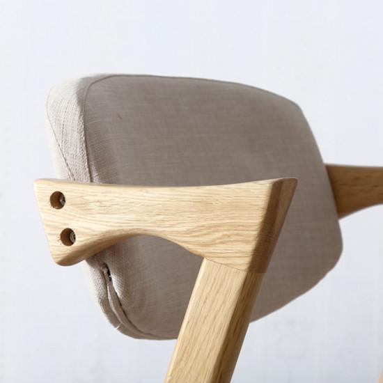 Z Chair, W460, Oak
