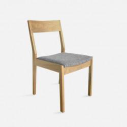 Trunk Chair, W45, Oak