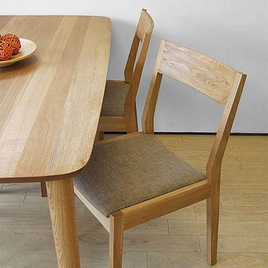 Trunk Chair, W45, Walnut
