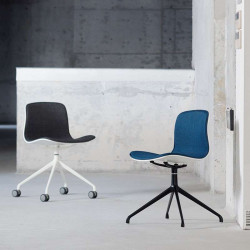 L Shape with stainless Steel Legs, Dark Grey Fabric