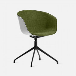 U Shape Armchair, W57, Green