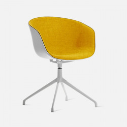 U Shape Armchair, W57, Yellow