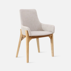 [Sale] Solo Chair, W52, Oak