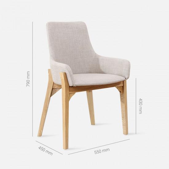 [Sale] Solo Chair, W52, Oak