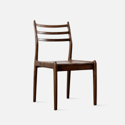 Dandy Wooden Chair, W48, Walnut