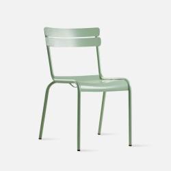 Aluminium 093 outdoor/indoor dining chair, W44, Green [DISPLAY]