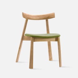 Elbow Chair no.2, W48, Natural Ash