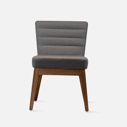 DINA Chair, W46, Walnut Brown
