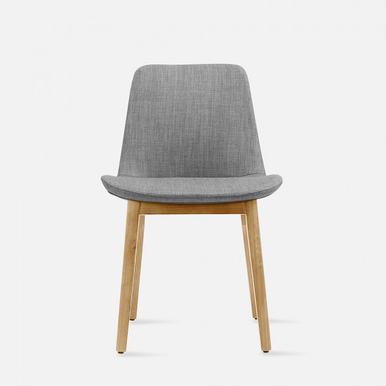 Curve Full Chair, Oak