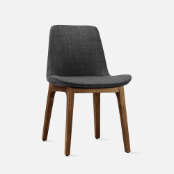 Curve Full Chair, W53, Walnut Brown