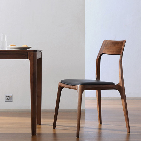 Oaki Chair, Natural Walnut