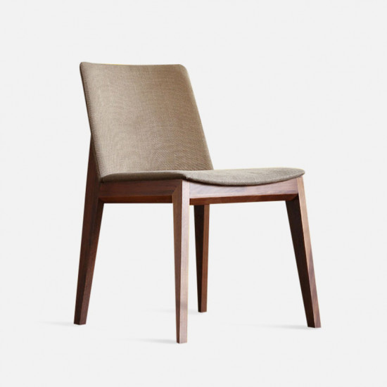 Framework Upholstered Dining Chair, W48, Natural Ash