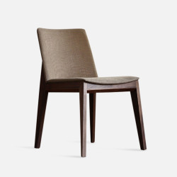 Framework Upholstered Dining Chair, W48, Dark Walnut