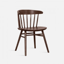 Stripe Chair, Large, Walnut