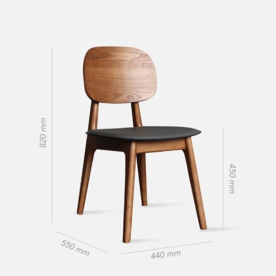Shima Chair II, Walnut