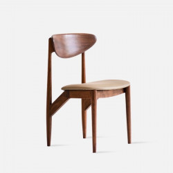 DANDY Elbow Chair II, Natural Walnut