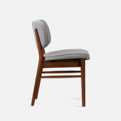 HANNA Chair, W50, Walnut Brown