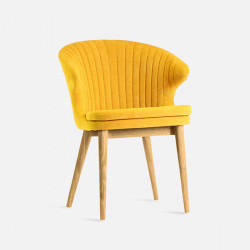 FIN Chair No.2, Natural Ash, Yellow