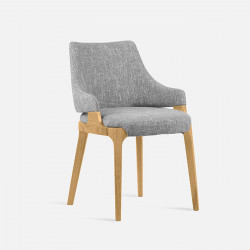 Ellis Armchair W59, Natural Ash