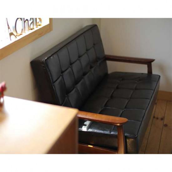 50's Armchair, L65, Walnut