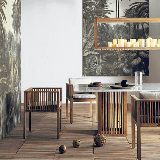 CODE Dining Table with Marble Top