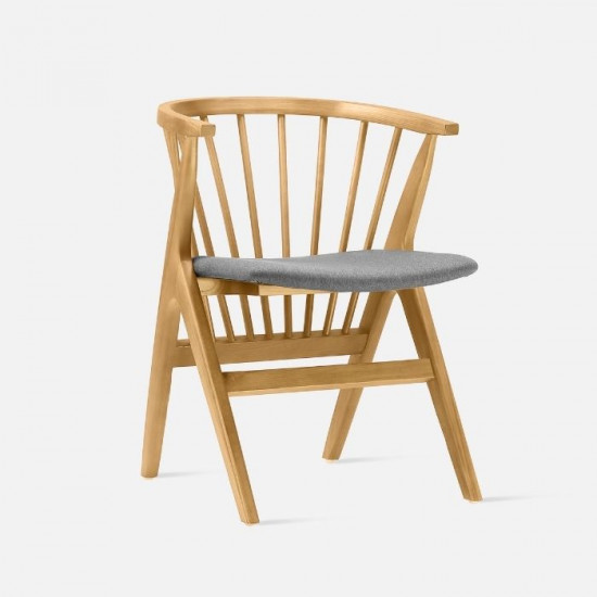 Willow Armchair, W56, Natural Ash